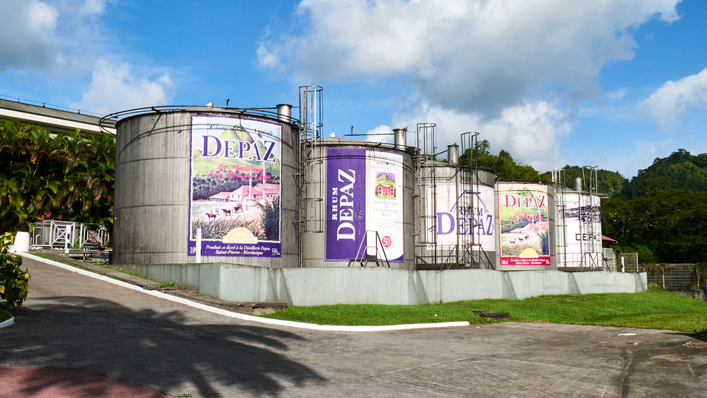 Depaz – Huge Rum Containers!